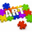 Creating Art - Stock Photo
