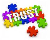 Opbouwen van vertrouwen — Stockfoto