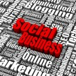 Social Business — Stock Photo