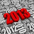 Red 2013 — Stock Photo