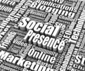Social Presence — Stock Photo