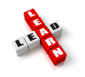 Learn Lead — Foto Stock