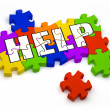 Finding Help — Stock Photo