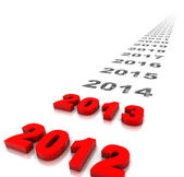 Yeni yıl 2013 — Stok fotoğraf