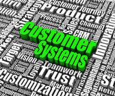 Customer Systems — Stock Photo