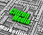 Citizen Media — Stock Photo