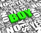 Is It a Boy — Stock Photo