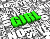 Is It a Girl — Stock Photo