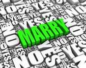Marriage Decision — Stock Photo