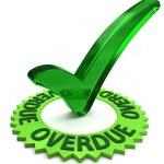 Overdue — Stock Photo #27199119