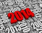 Red 2014 — Stock Photo