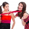 Girlfriends having fun together — Stock Photo #14812443