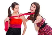 Girlfriends having fun together — Stock Photo