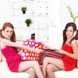 Fighting over presents — Stock Photo