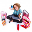 Shopping is my life — Stock Photo