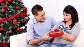 Christmas reconciliation — Stock Photo
