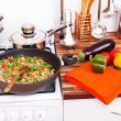 Stock Photo: Frozen vegetables ready to cook