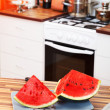 Royalty-Free Stock Photo: Watermelon in the kitchen