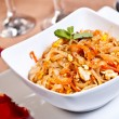 Indian side order food - Phad thai gung — Stock Photo