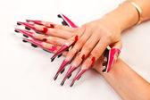 Voorbereiding van nagels — Stockfoto