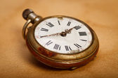 Close-up pocket watch — 图库照片