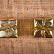 Golden gift boxes — Stock Photo #36049045
