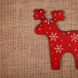 Raindeer decoration — Stock Photo