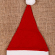 Red Santa's hat — Stock Photo