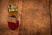Regalos de navidad colorida — Foto de Stock