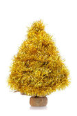 Golden garland tree — Stock Photo