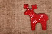 Raindeer decoration — Stok fotoğraf