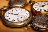 Closeup pocket watches — Stockfoto