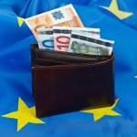Flag and euro — Stock Photo #9699006