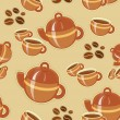 Coffee seamless pattern — Stock Vector #11813212