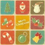 Christmas icons — Stock Vector #13615676