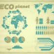 Vector de stock : Eco Planet