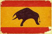Spanish flag — Stock Vector