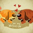 Royalty-Free Stock  : Valentines Day Card