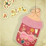 Постер, плакат: Birthday Card for Girl