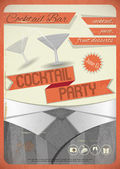Cocktail Party — Stock Vector