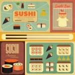 Sushi — Stock Vector #29457069