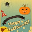 Halloween card — Vector de stock