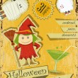 Halloween Party — Imagen vectorial