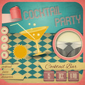 Cocktailparty — Stockvektor