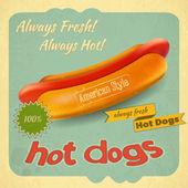 Hot dogy — Stock vektor