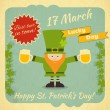 St.Patrick's Day — Vector de stock #37135261