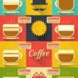 Coffee Icons — Stock Vector