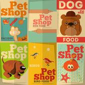 Evcil hayvan dükkanı — Stok Vektör