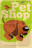 Pet shop — Stock vektor