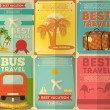 ������, ������: Travel Posters Set